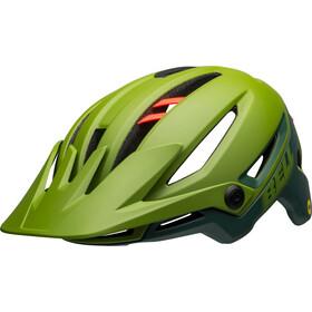 Bell Sixer MIPS Casco, matte/gloss green/infrared